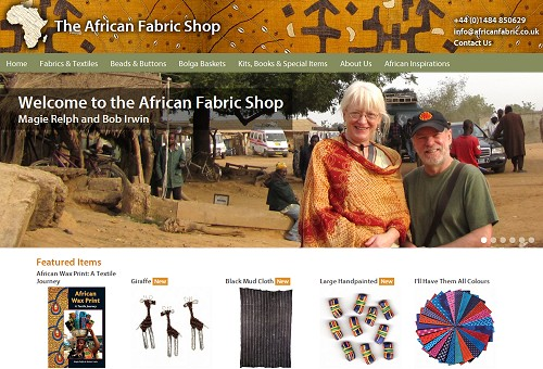 African Fabric Shop screenshot